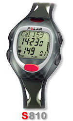 Polar S810 heart rate monitor